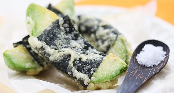 アボカドと海苔の天ぷら