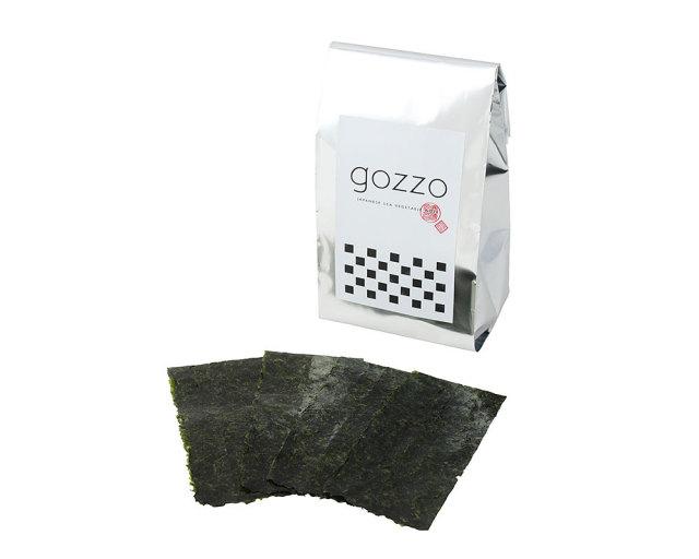 gozzo 1/8サイズカット板のり56枚(全型7枚分)