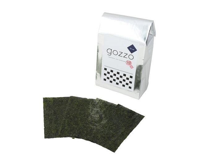 gozzo blue1/8サイズカット板のり56枚(全型7枚分)